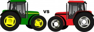 john deere vs case ih